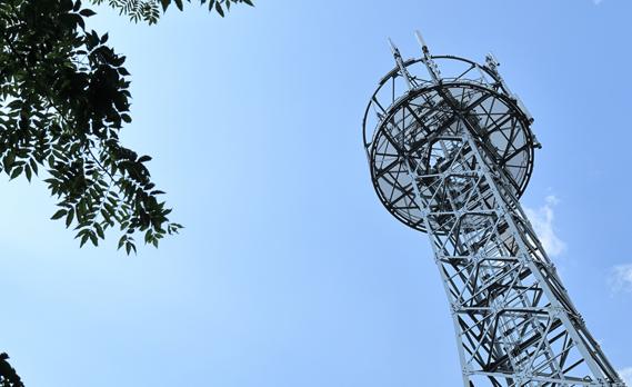 携帯電話の基地局施工が可能